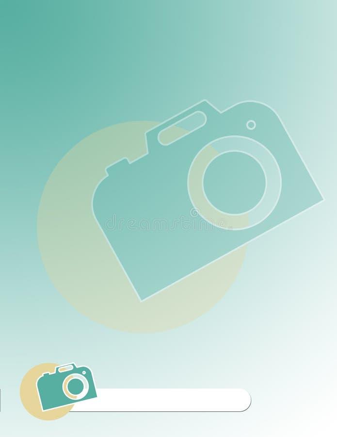 Modello dell'opuscolo di fotografia fotografie stock