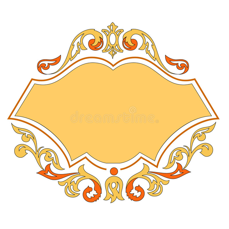 Download Modello Dell'ornamento Di Vettore Illustrazione Vettoriale - Illustrazione di semplice, saluto: 3894942