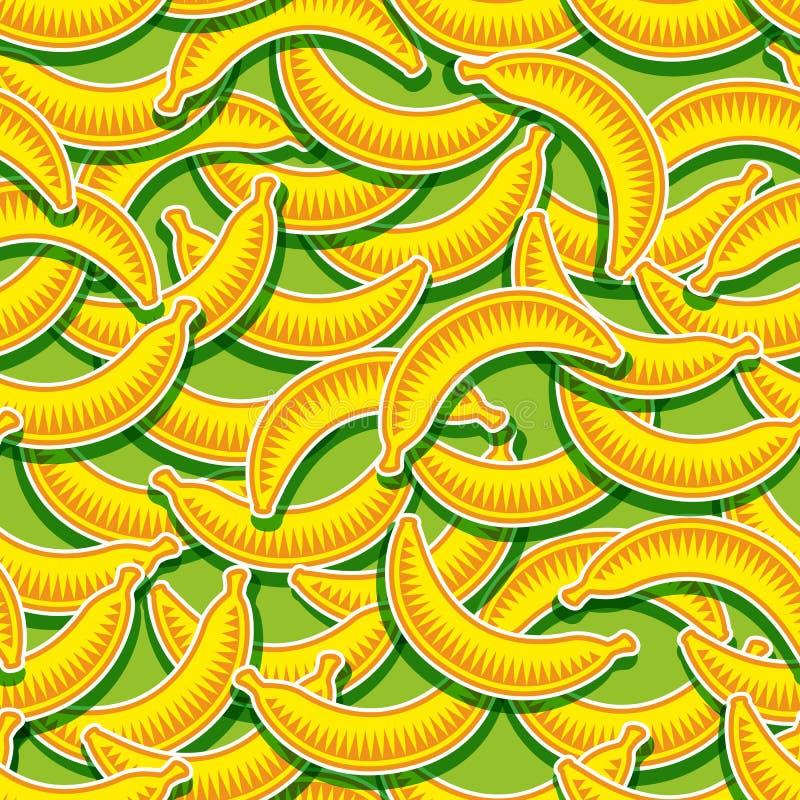 Modello Della Banana Illustrazione Vettoriale