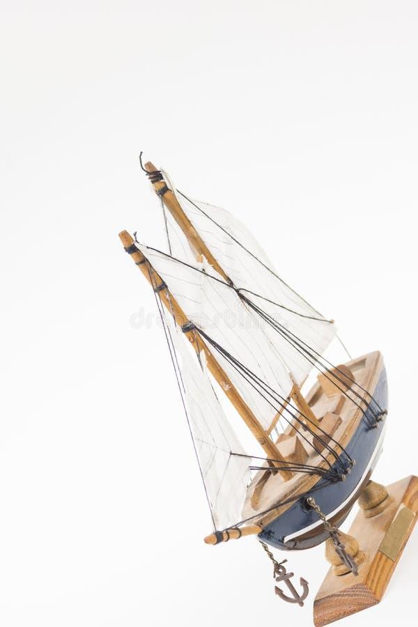 Modello della barca a vela fotografie stock