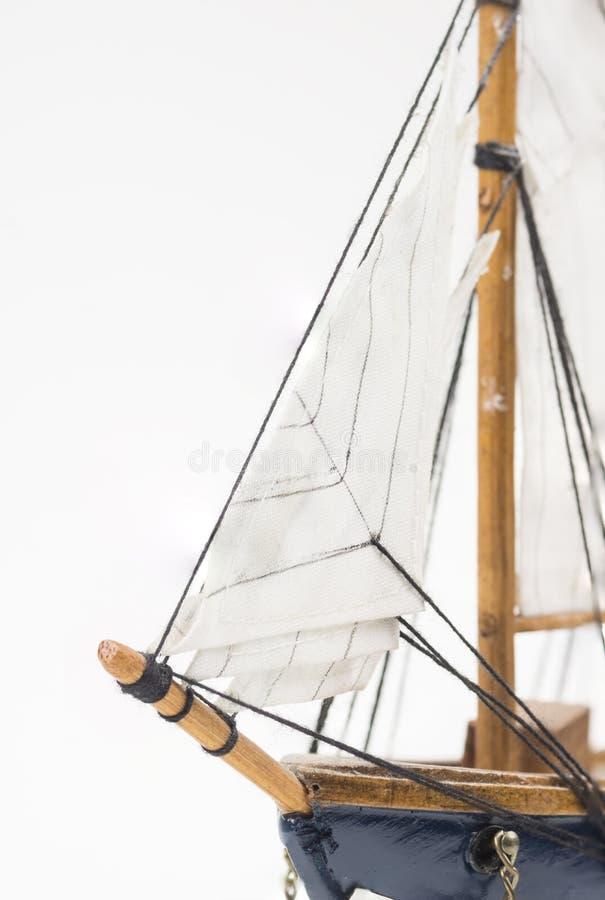 Modello della barca a vela fotografia stock libera da diritti