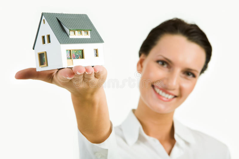 Modello della casa immagini stock libere da diritti