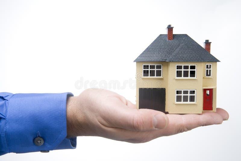 modello della casa fotografie stock libere da diritti