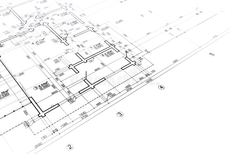 Download Modello della costruzione illustrazione di stock. Illustrazione di architettura - 55365423