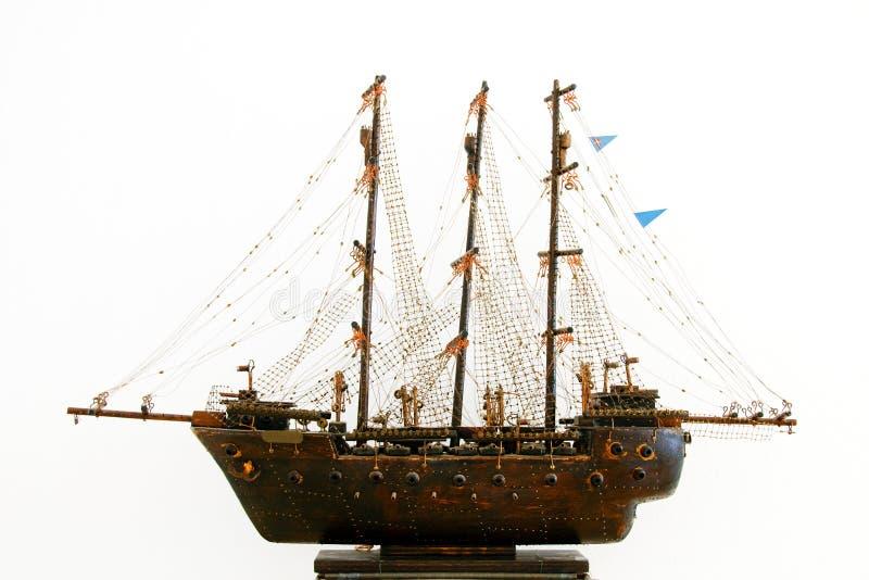 Modello della nave di navigazione immagine stock libera da diritti