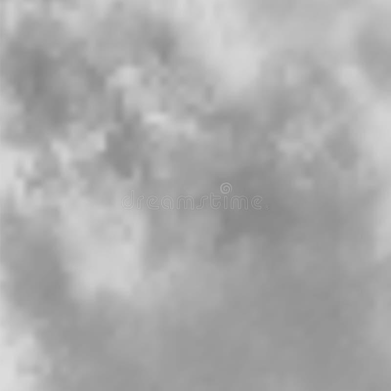 Modello della nebbia o del fumo Effetto speciale della nuvola Fenomeno naturale, atmosfera misteriosa o foschia del fiume fotografie stock libere da diritti