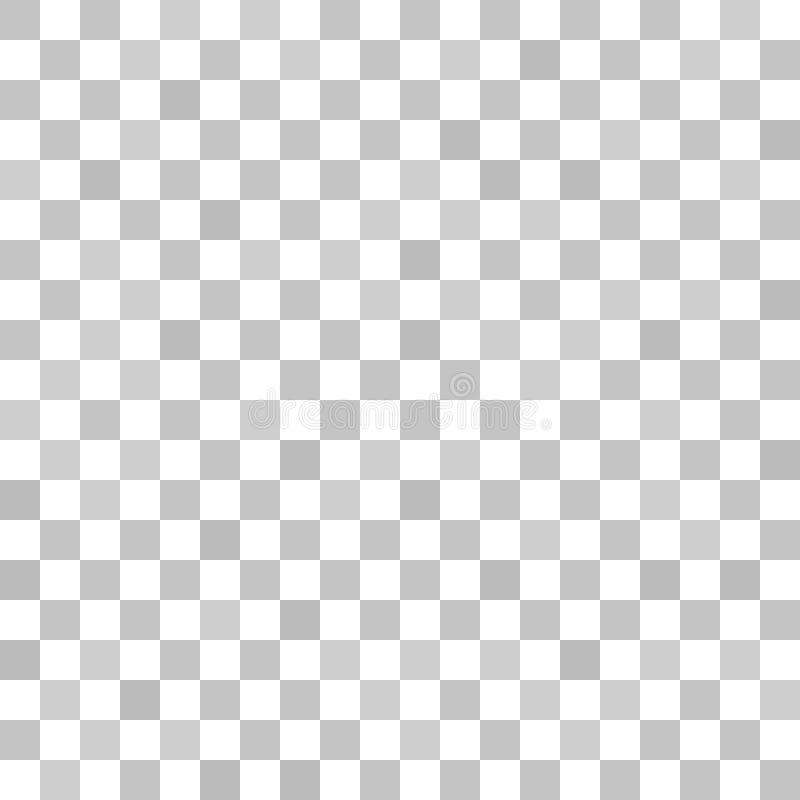 Modello della scacchiera Fondo a quadretti di vettore senza cuciture illustrazione vettoriale