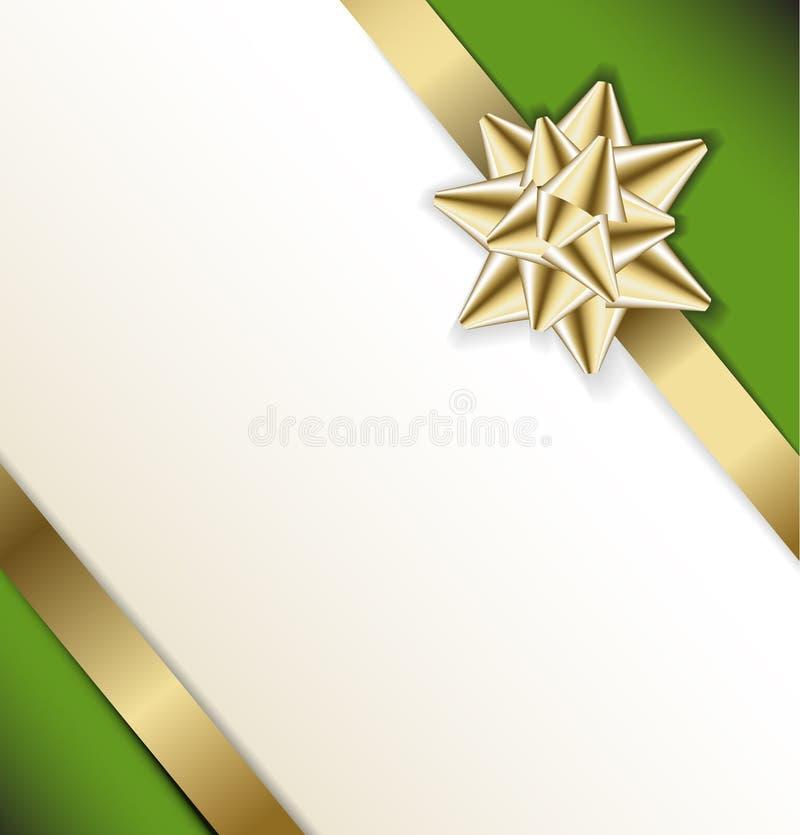 Modello della scheda (cerimonia nuziale, compleanno, natale) illustrazione vettoriale