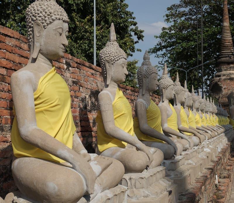modello della statua di Buddha fotografie stock