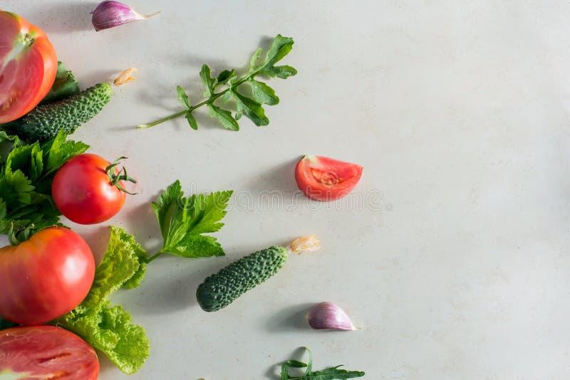 Modello della verdura fresca immagini stock