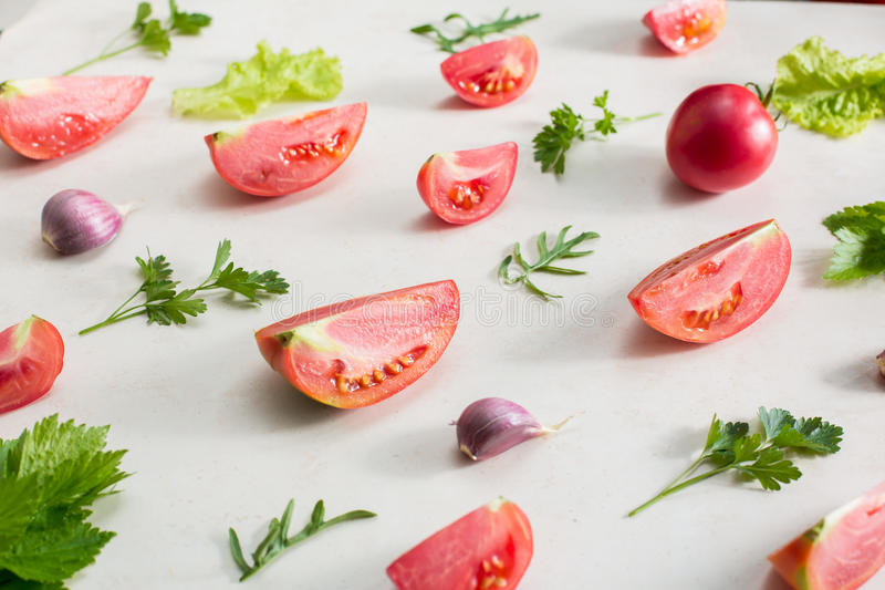 Modello della verdura fresca immagine stock