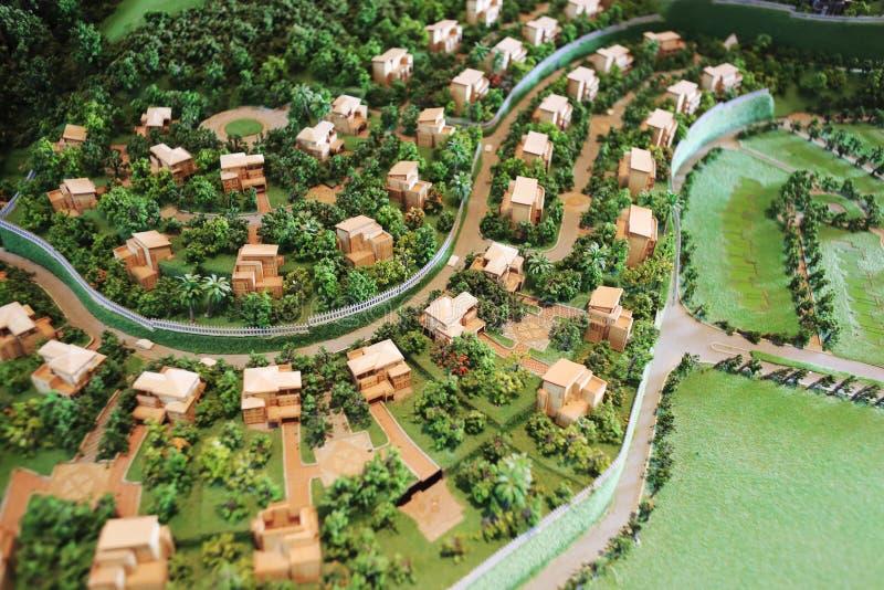 Modello della villa di Banshanshu fotografie stock libere da diritti