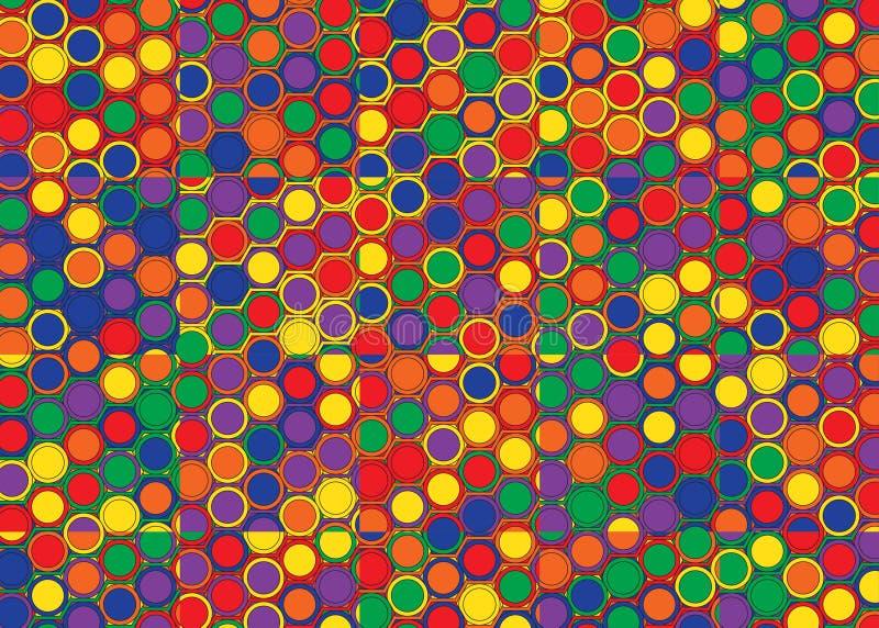 Modello delle mattonelle della sfortuna illustrazione vettoriale