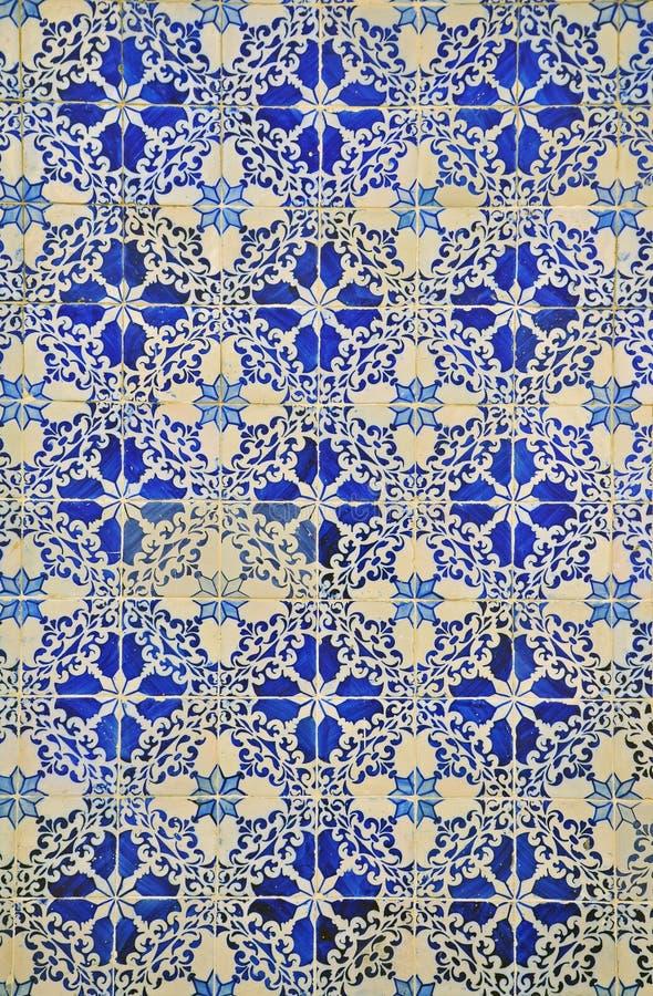 Modello di Azulejo fotografie stock