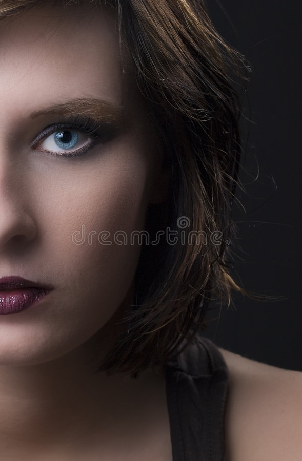 Modello di bellezza fotografia stock libera da diritti