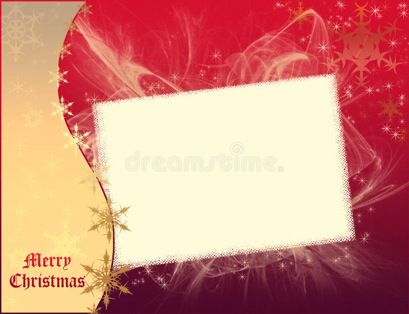 Modello di Buon Natale royalty illustrazione gratis
