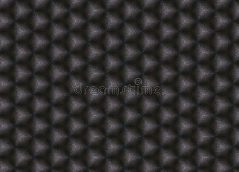 Modello di cuoio quadrato scuro immagini stock libere da diritti