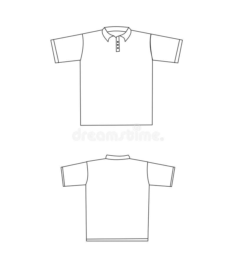 Conosciuto Modello Di Disegno Della Maglietta Illustrazione di Stock  OJ44