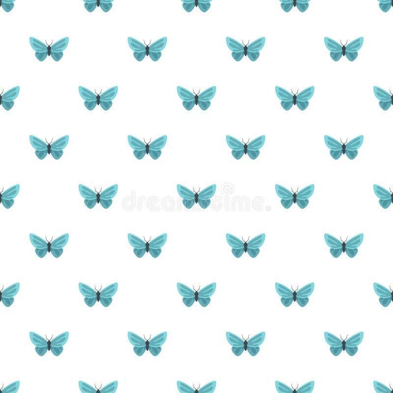 Modello di farfalla insolito senza cuciture illustrazione di stock