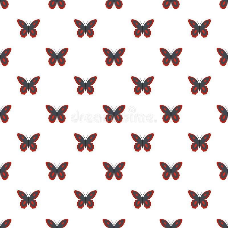 Modello di farfalla macchiato senza cuciture royalty illustrazione gratis