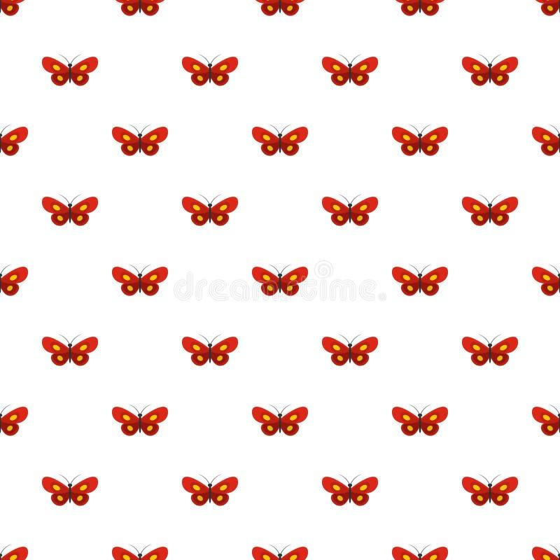 Modello di farfalla minuscolo senza cuciture illustrazione vettoriale
