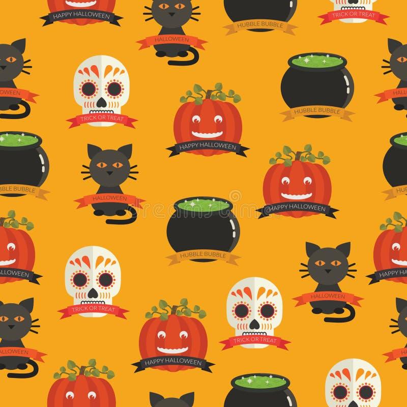 Modello di Halloween royalty illustrazione gratis