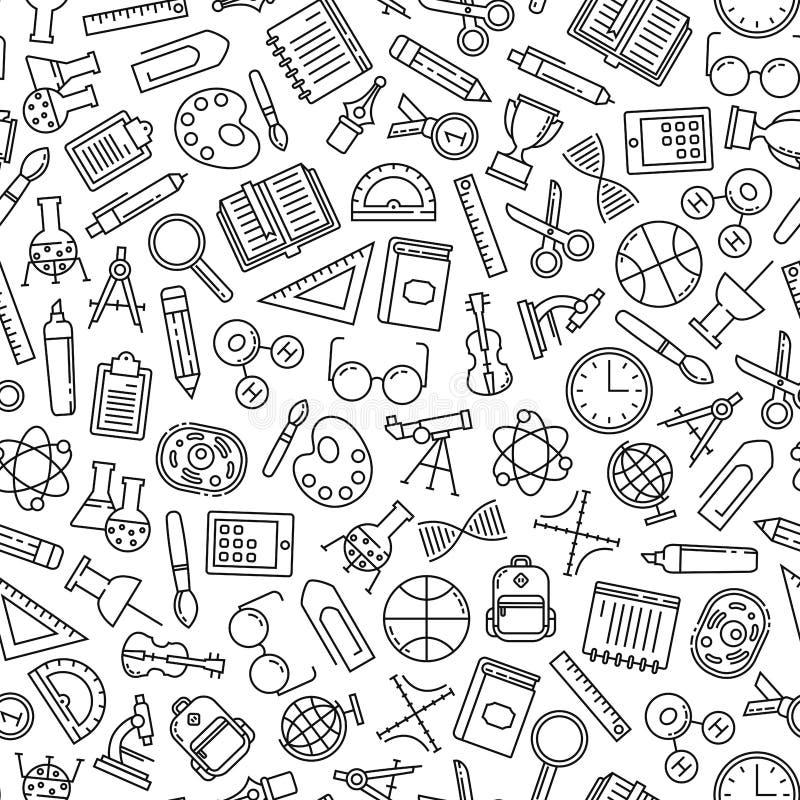 Modello di istruzione illustrazione di stock