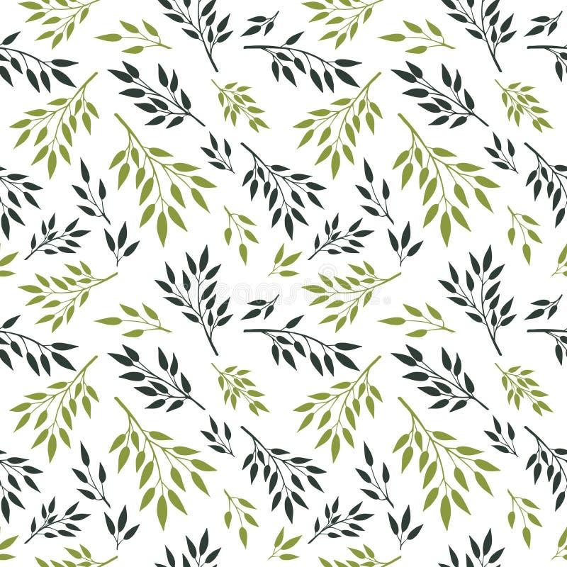 Modello di leaves1 illustrazione di stock