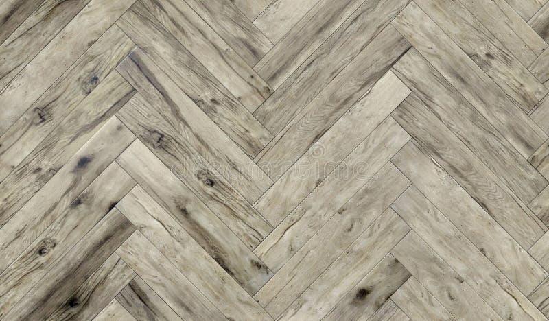 Modello di legno senza cuciture della spina di pesce di struttura del parquet, diffuso immagine stock