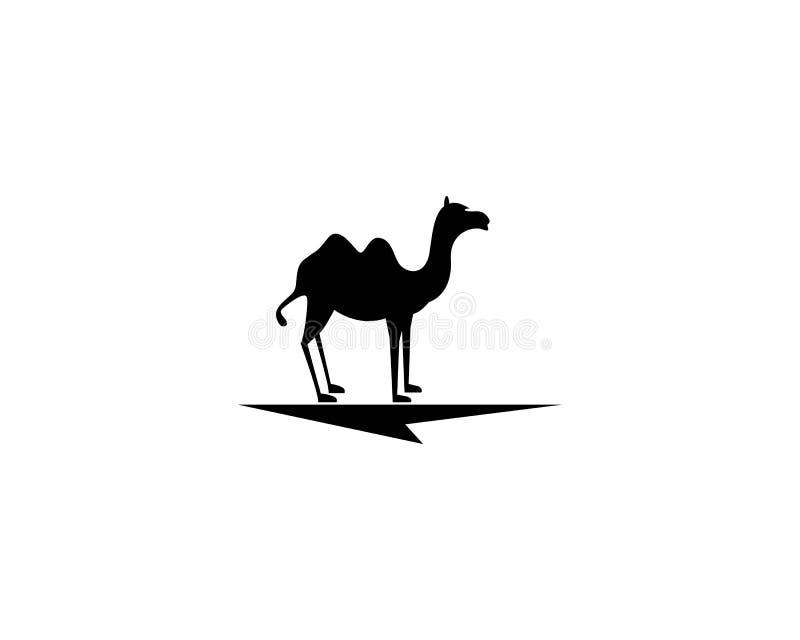 Modello di logo del cammello royalty illustrazione gratis
