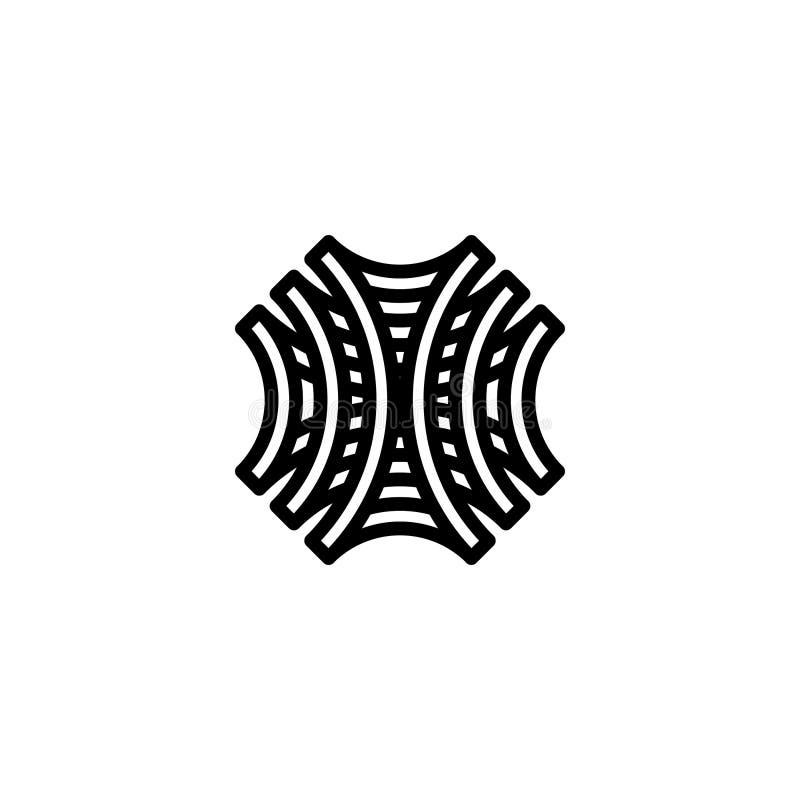 Modello di logo del modello ~ vettore illustrazione vettoriale