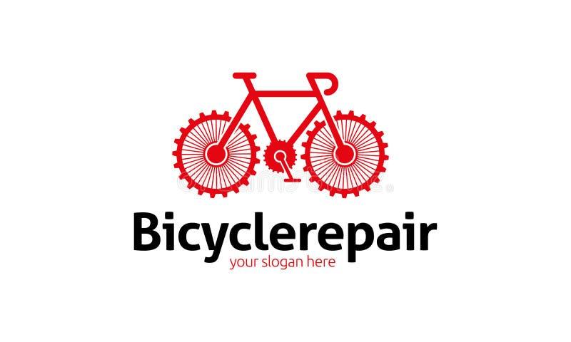 Modello di logo della bicicletta illustrazione vettoriale