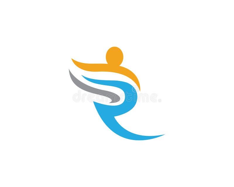 Modello di logo di progettazione della Comunità royalty illustrazione gratis