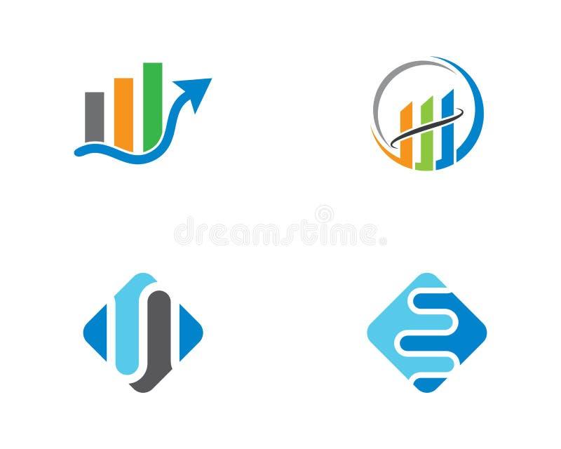Modello di logo di finanza di affari royalty illustrazione gratis