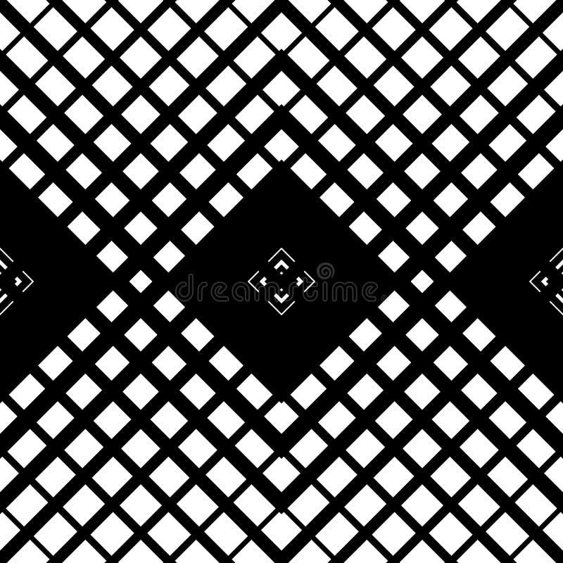 modello di Maglia-griglia con l'attraversamento delle linee diagonali textur geometrico illustrazione vettoriale