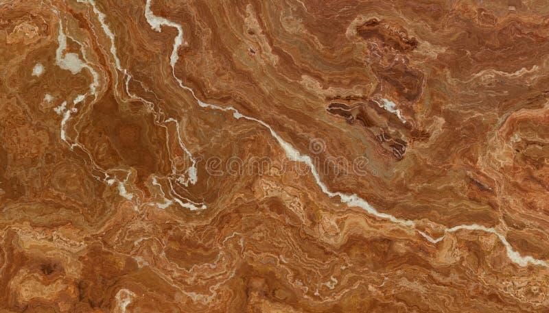 Modello di marmo della pietra della vena di Brown royalty illustrazione gratis