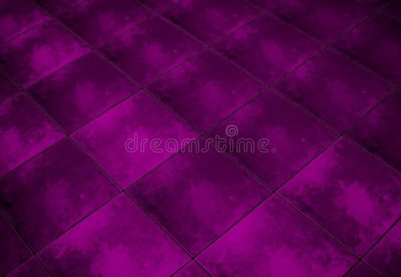 modello di marmo a quadretti del pavimento di lerciume fotografia stock