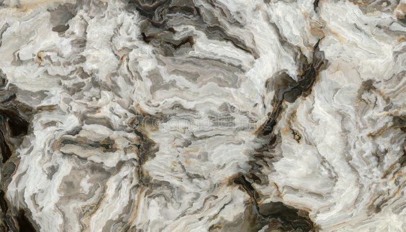 Modello di marmo riccio grigio illustrazione vettoriale