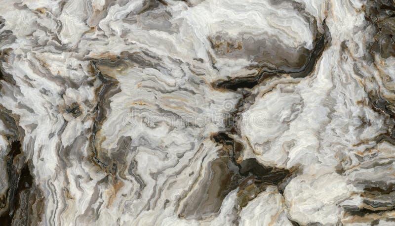 Modello di marmo riccio grigio royalty illustrazione gratis