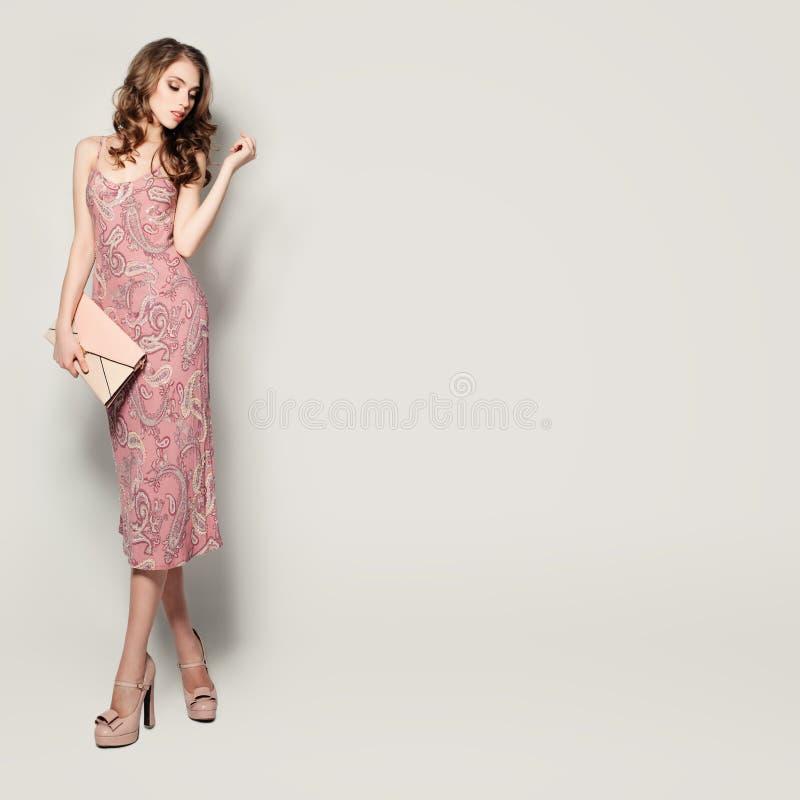 Modello di moda affascinante Woman fotografie stock