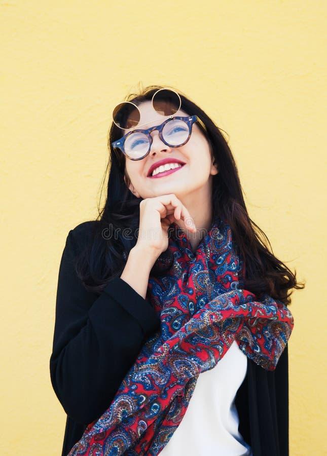 Modello di modo adolescente fotografie stock libere da diritti