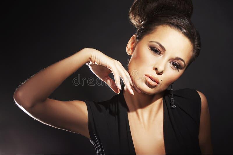Modello di modo sexy fotografie stock libere da diritti