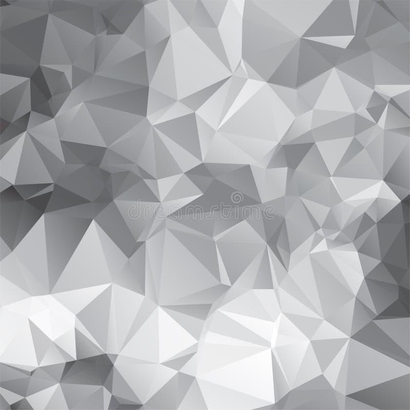 modello di mosaico triangolare astratto di vettore illustrazione di stock