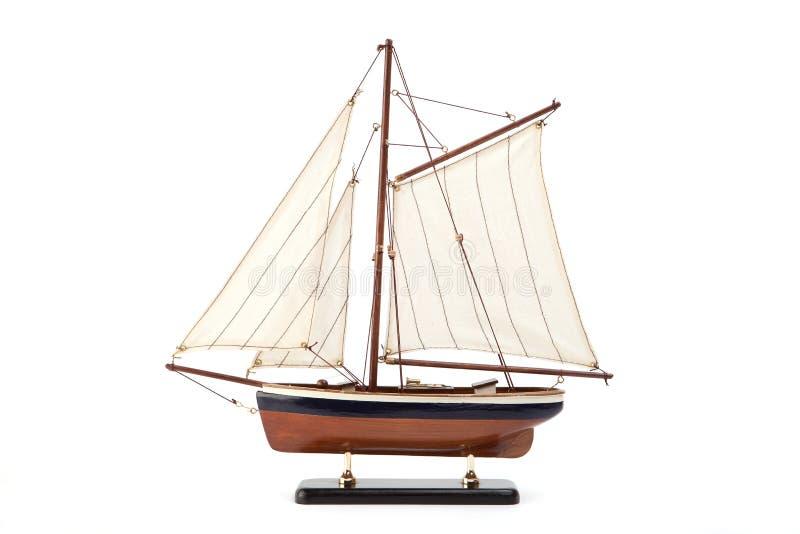 Modello di nave fotografia stock