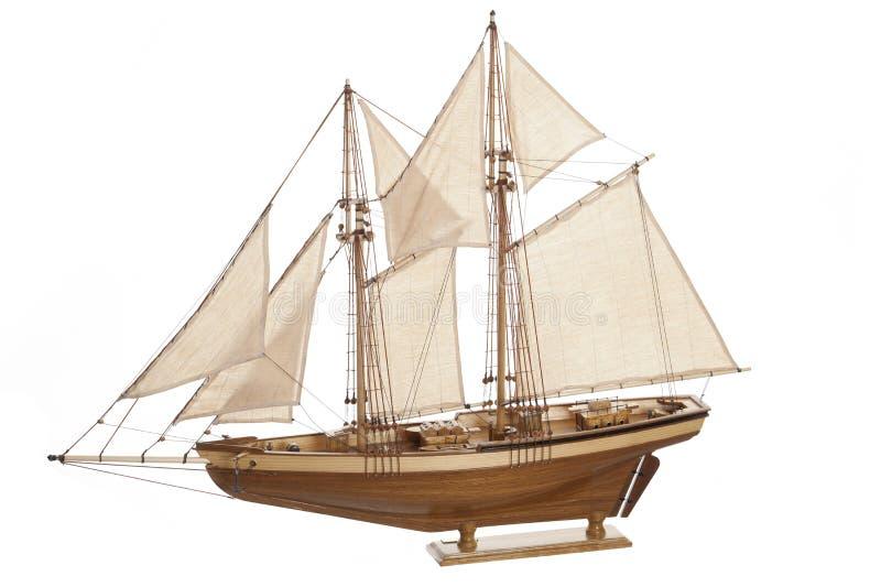 Modello di nave immagine stock