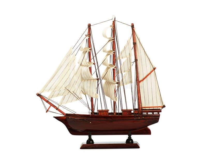 Modello di nave fotografie stock