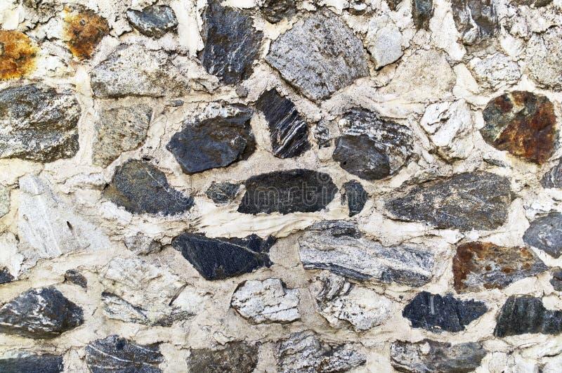 Modello di pietra rustico del fondo della roccia fotografia stock libera da diritti