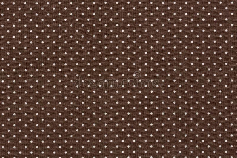 Modello di pois marrone scuro per il vostro progetto unico immagini stock libere da diritti