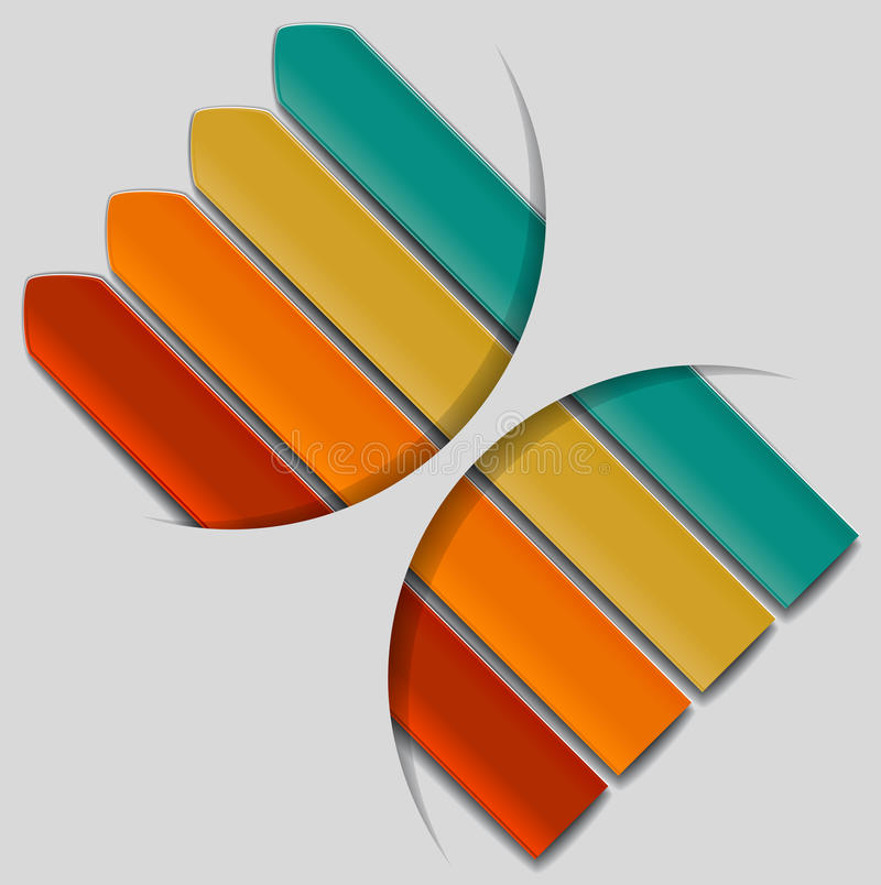 Modello di progettazione illustrazione di stock