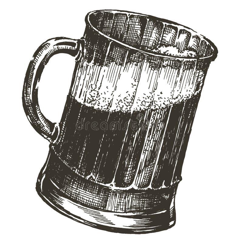 Modello di progettazione di logo di vettore della birra il più oktoberfest o illustrazione di stock